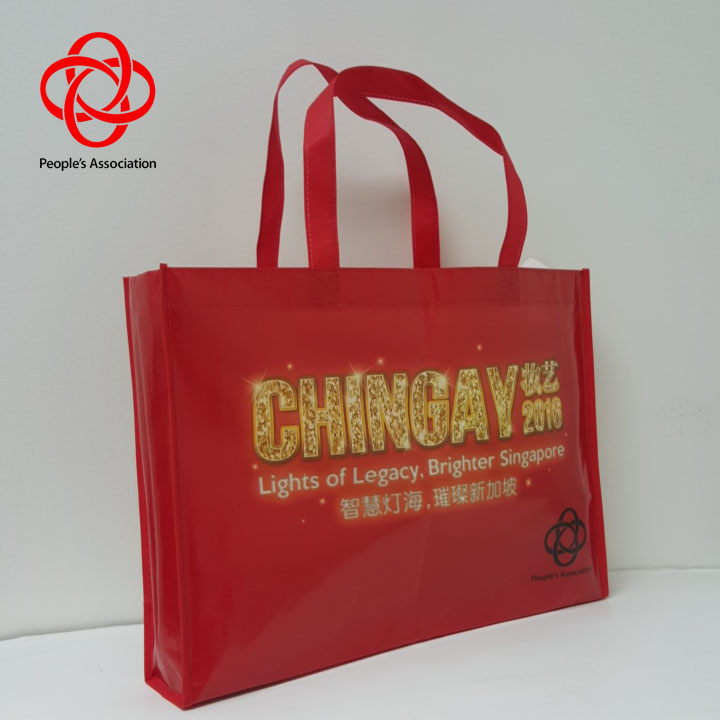 non-woven bag customized customised print  full color