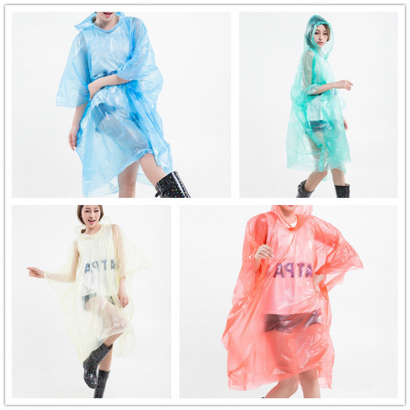 Rally Disposable Poncho Raincoats customized customised
