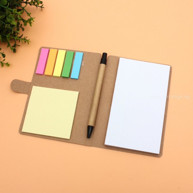 Get Customized logo print notebook for Running race, company event, career fair, trade show, exhibition and conference.