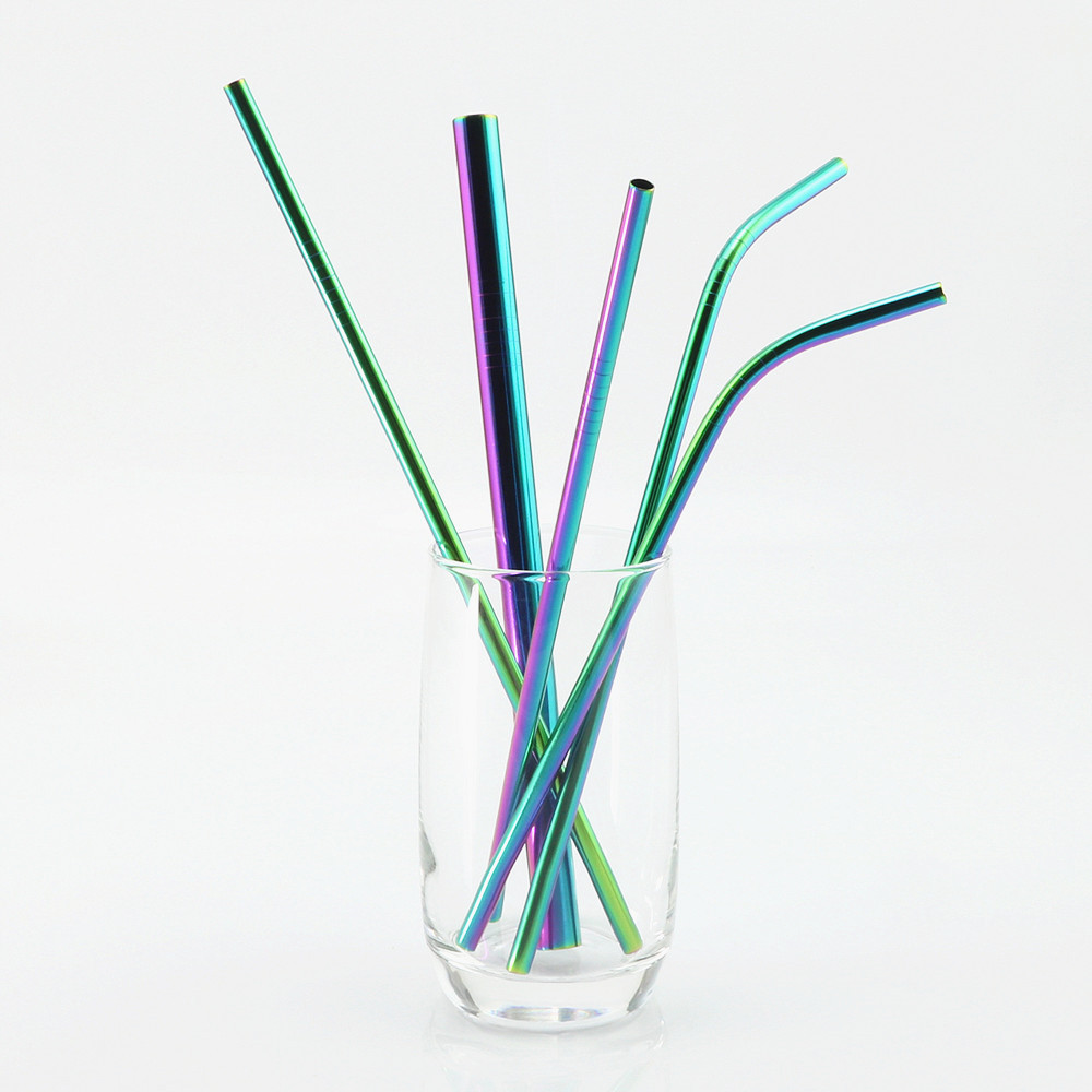 Get Customized company logo print Stainless Steel Straws metal in singapore Starts from 100pcs for wedding, company event, career fair, trade show, exhibition and conference.