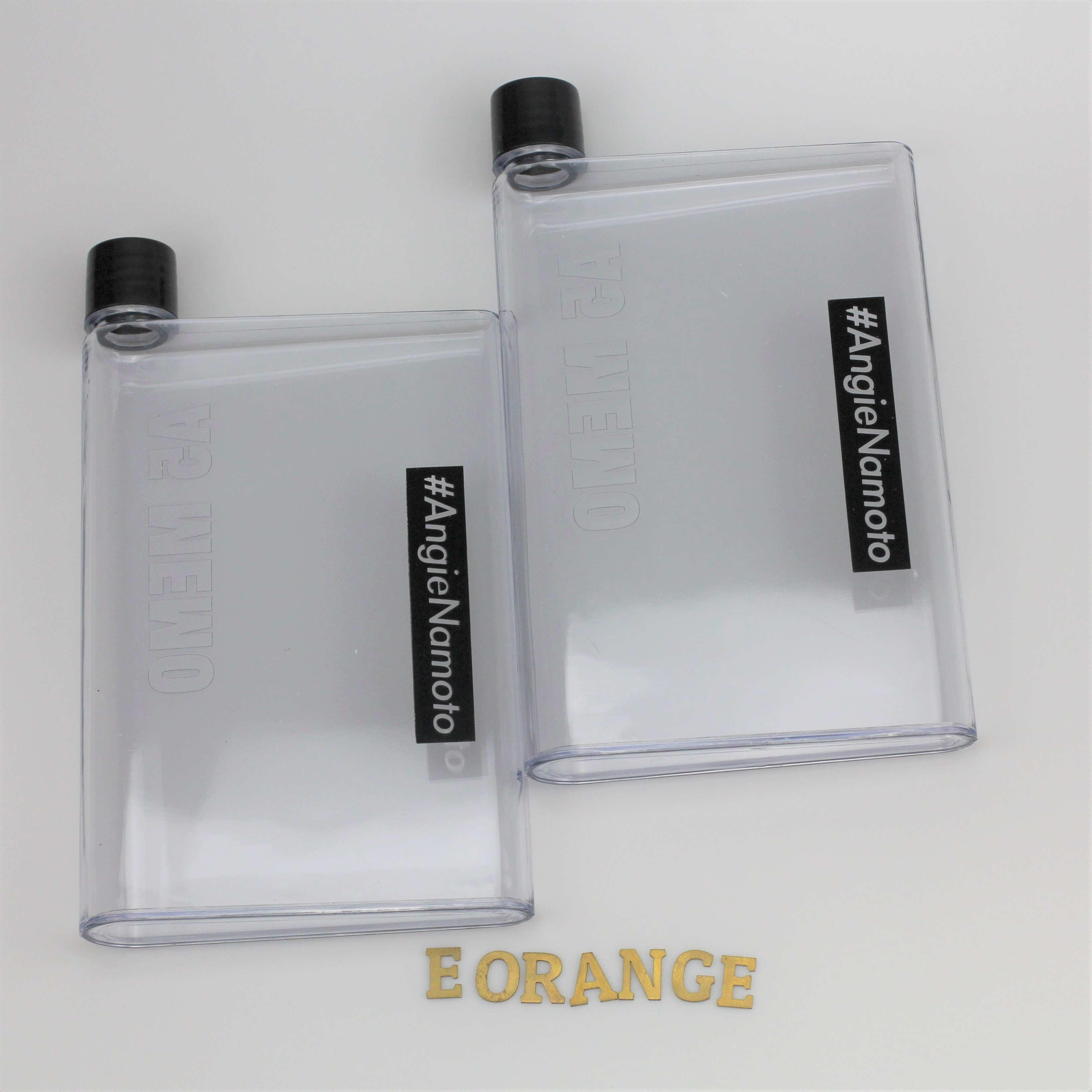 Memo Notebook Water Bottle for event summer giveaway customised logo print singapore