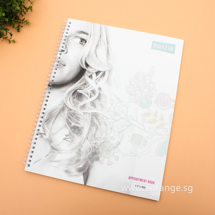 Customise print A5 Size Wire-O Notebook