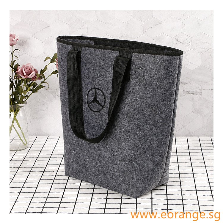 Felt Tote Bags with Inner Pocket