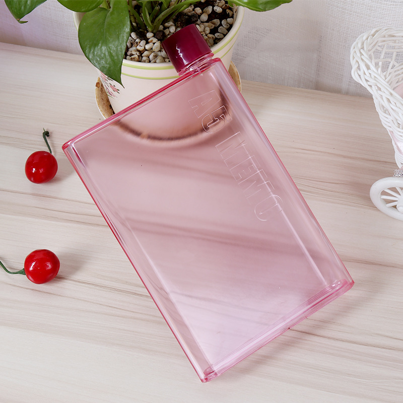 Memo Notebook Water Bottle