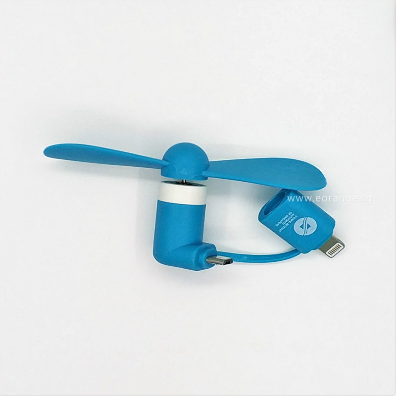 2 in 1 Mini Phone Fan