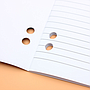 A4 Notebooks with Hole