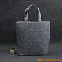 Felt Mandarin Orange Carrier Bag