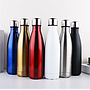 Insulated Stainless Steel Cola Shaped Sports Water Bottles