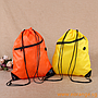 Drawstring Backpacks with Pocket and Earphone Slot