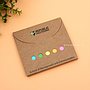 Eco-Friendly Color Flag Sticky Notepad Memo Booklets