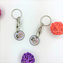 Custom Trolley Coins Keychain